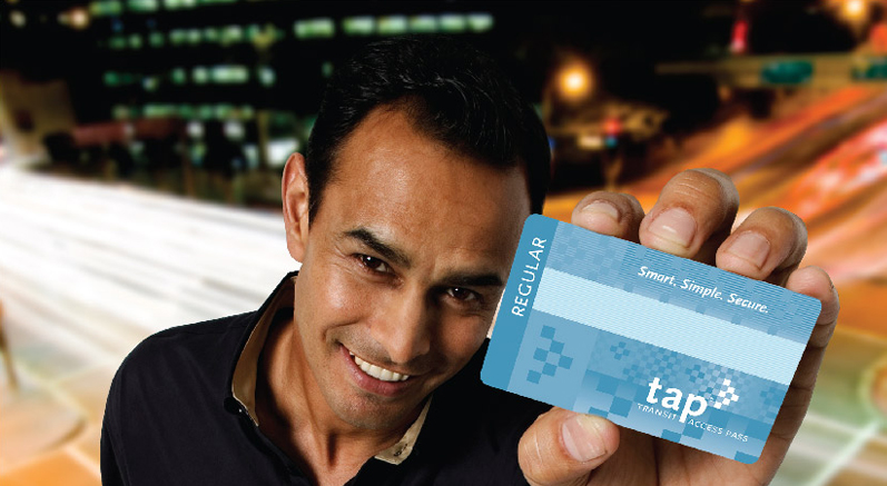 TAP card ad image