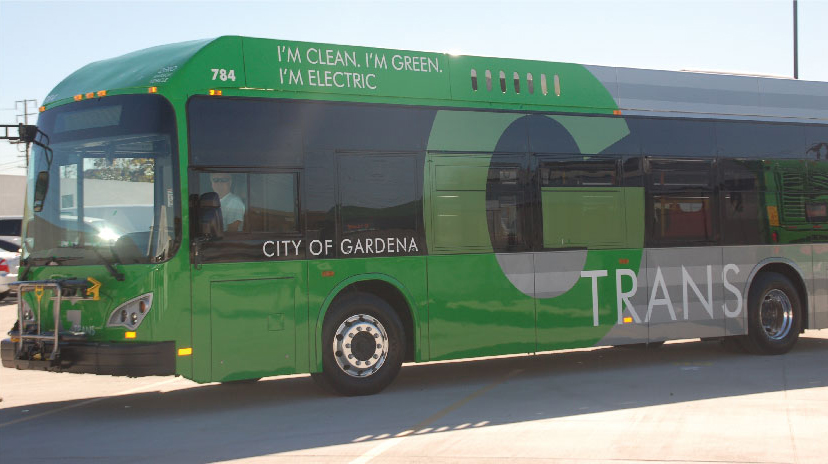 GTrans all electric bus