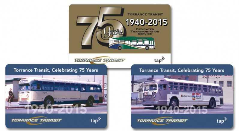 New tap cards