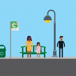 Bus Stop Project Graphic