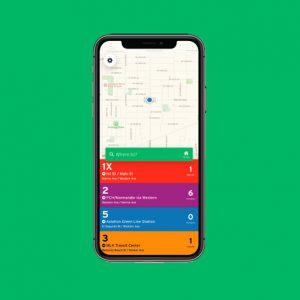 Photo of the Transit App